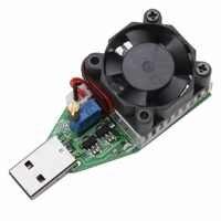 1 unidad de CC 3,7 13 13V USB 15W ajustable de corriente constante de carga electrónica descargador de batería probadores