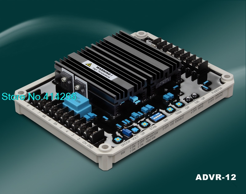 ORINGALLY ADVR 12 Single/Three Phase Sensing and Single/Three Phase Power Input 12 Amp AVR free shipping
