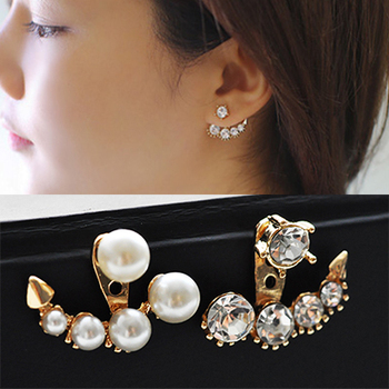 Women's Drop Crystal Earrings Earrings Jewelry Women Jewelry Metal Color: E041