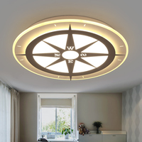 Pink Blue White Modern Led Ceiling Lights Decorative Bedroom Living Dining Room AC90 265V Ceiling Lamp