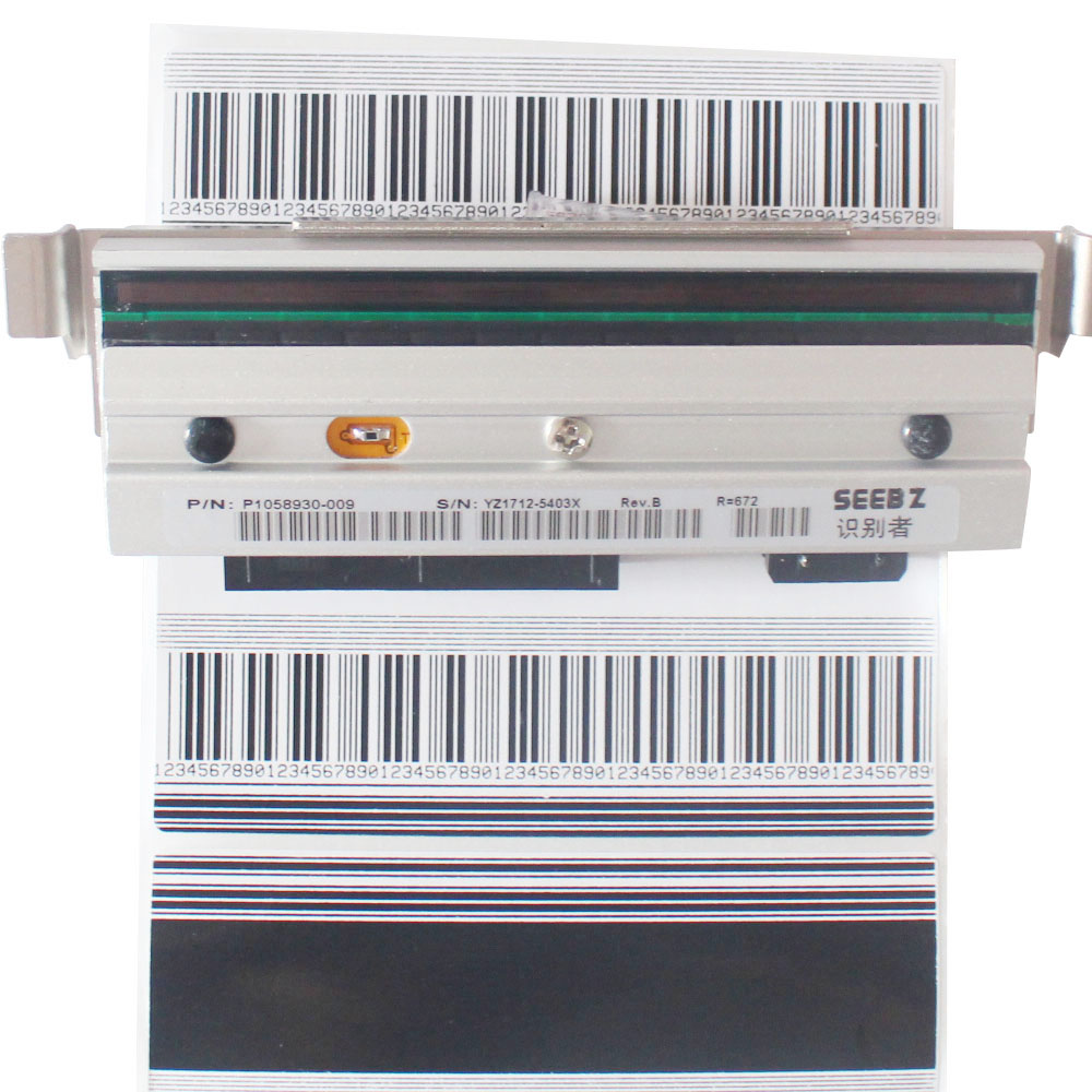 SEEBZ Compatible New Thermal Barcode Printer Print Head For Zebra ZT410 203dpi Printhead P1058930-009 p1058930 010 new compatible printhead print head for zebra zt400 zt410 203dpi barcode printer head dhl free shipping