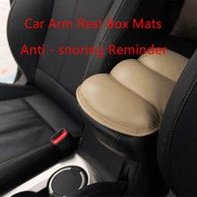 Mats Arm-Rest-Box Reminder Driving Anti-Snoring Bubble-Car Car-Cover/comfortable 4-Color/decoration