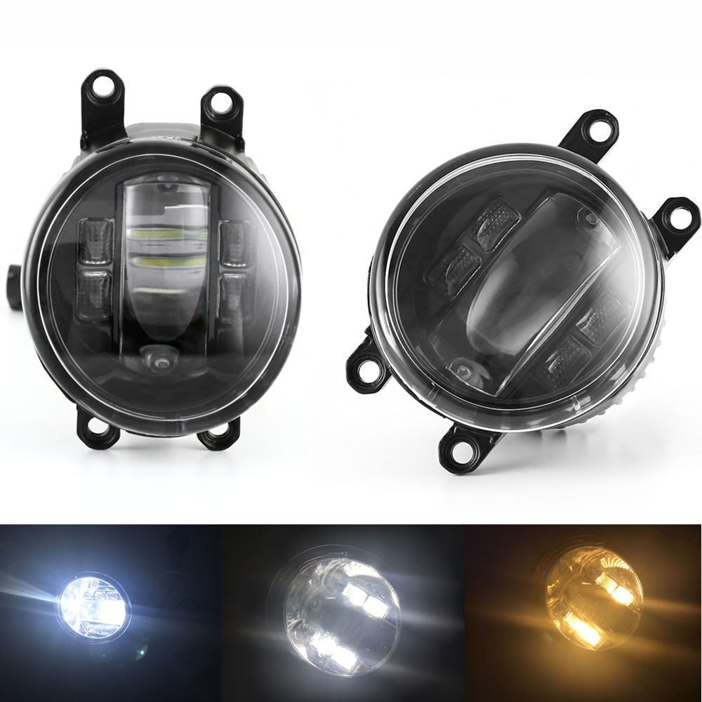 Replacement for Toyota Camry RAV4 xA Highlander Yaris Corolla New Driver Car Fog Light LED fog