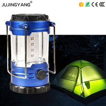 Ultra Bright Tent light 12 led camping lamp Collapsible LED Portable Lanterns for Hiking Camping