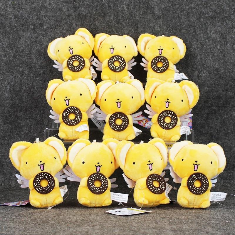 Cartoon Anime Cute Cardcaptor Sakura Kero Soft Stuffed Plush Toys Dolls for children s Gift Free