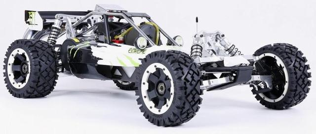 1/5 RC CAR Off-road 36CC powerful 2t Gasoline Engin 2.4G Remote Control Rovan BAJA 5B with Symmetrical steering