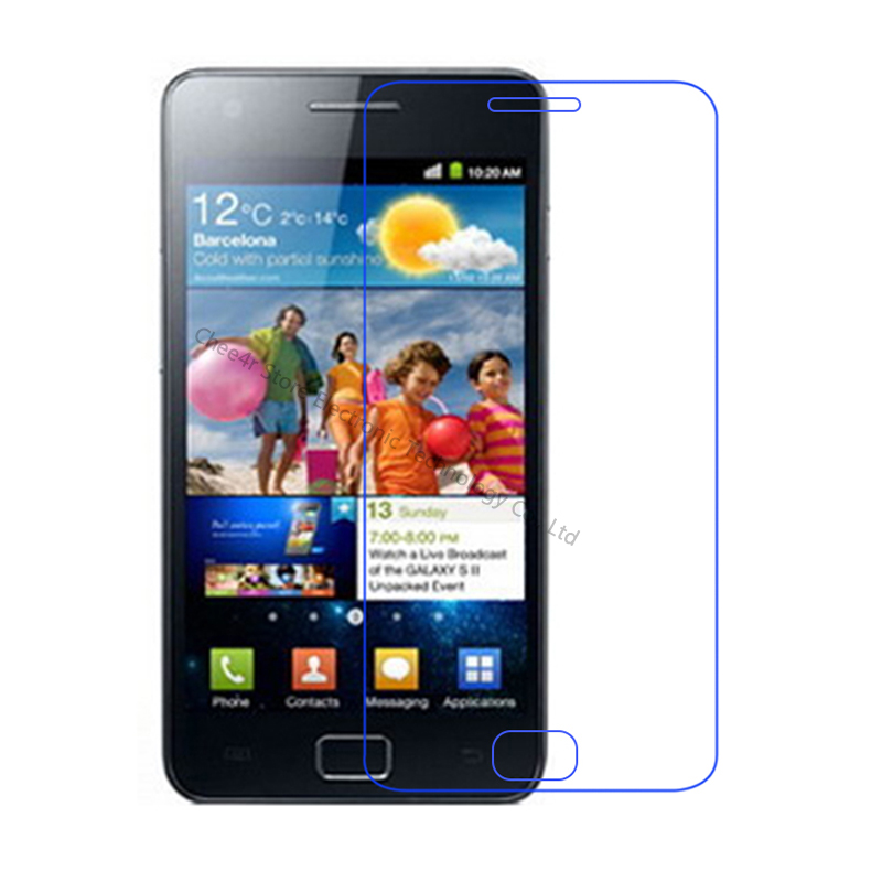 For Samsung Galaxy S2 Tempered glass Screen Protector 2.5 9h Safety Protection Film on S 2 II Plus SII GT I9100 I9105 E120