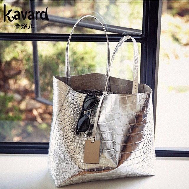 Casual Tote Crocodile Alligator Beach ladies hand bag spanish brand sac luxury handbag pochette woman bags designer dollar price