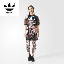 Adidas Women's New Arrival short sleeve T-shirts AJ8544/AJ8539 Breathable Jersey Sportswear Superstar Jersey T