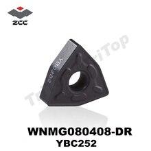 ÜCRETSIZ KARGO WNMG080408-DR YBC252 (WNMG432) Için Karbür dönüm Ekleme MWLN Dış Torna Takım