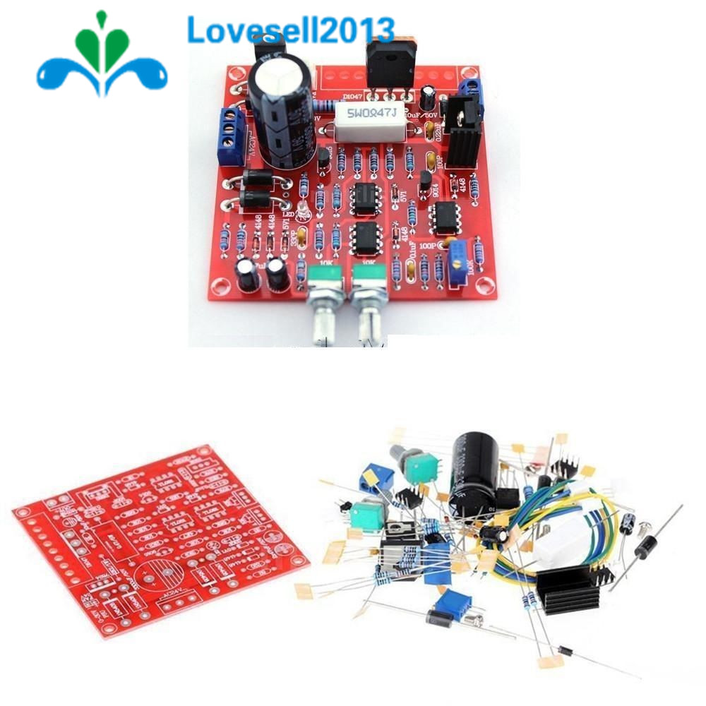 Shipping Dc Adjustable Regulated Power Supply Diy Kit Short Circuit