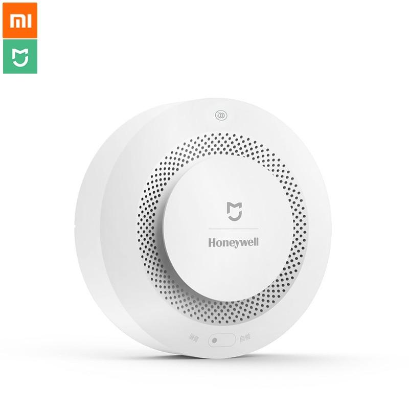 imágenes para Original Xiaomi Mijia Honeywell Fuego Detector de Humo Alarma de Puerta de Entrada de Alarma Alarma de Sonido Progresivo Trabajo Con Xiaomi Remoto Remoto Un
