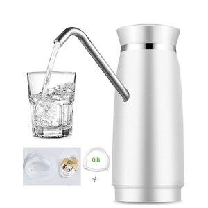 Image 5 - Automatic Dispensador De Agua Electric Portable Cold Water Dispenser Gallon Drinking Bottle Switch Water Battery Pump For Bottle
