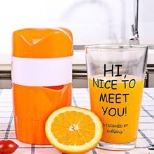 High Quality Manual Citrus Juicer for Orange Lemon Fruit Squeezer 100% Original Juice Child Healthy Life Potable Juicer Machine все цены