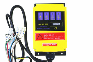 Image 5 - A2HH electric hoist with a direct control type industrial remote control built in contactor with emergency stop