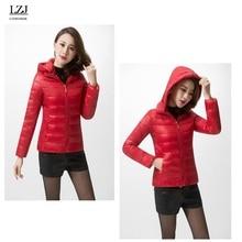 LZJ 2017 new jackets women autumn winter Fashion Casual Basic jacket Cotton coat female jacket parka Wadded Slim Short outwear