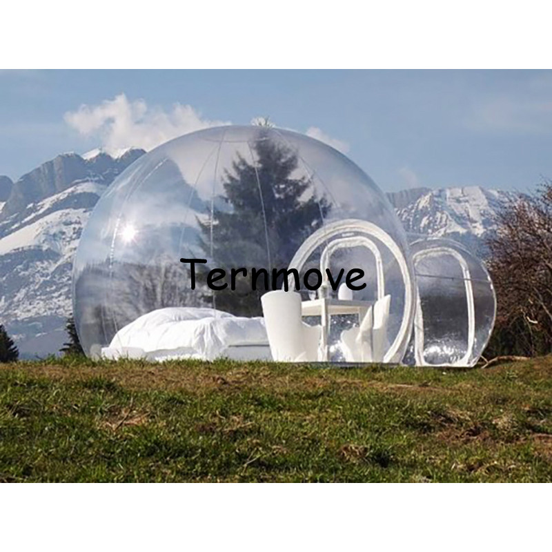 цены camping bubble tent,0.3mm PVC Outdoor inflatable clear bubble tent,trade show inflatable tents,large Inflatable Dome Event Tent