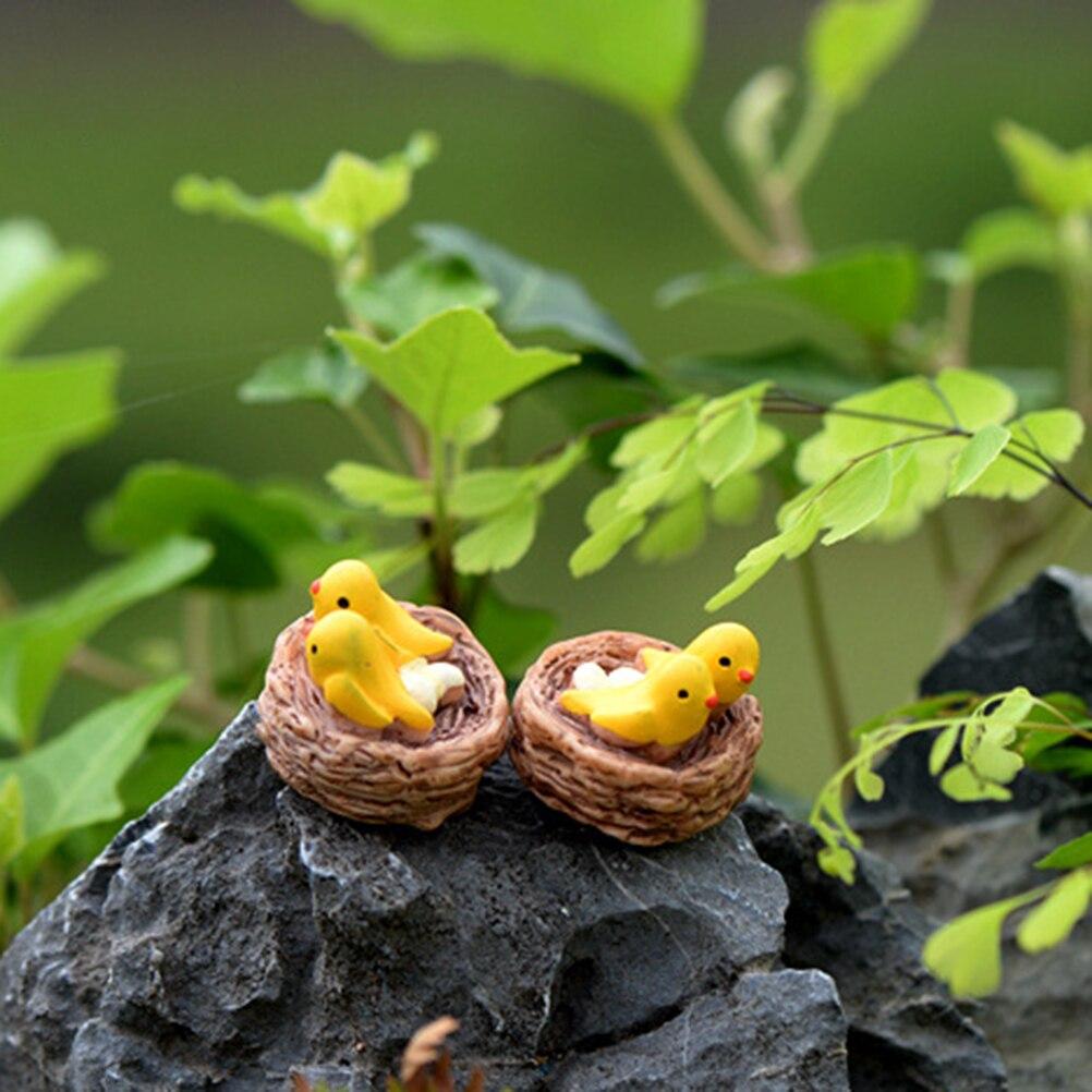 2pcs Tortoise Model For Doll House Home Desktop Succulents Micro Landscape Decoration Fairy Garden Miniatures Terrarium