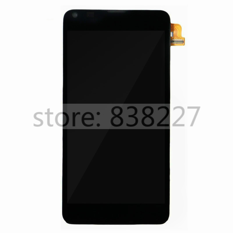 ФОТО For Nokia Microsoft Lumia 640 LCD display screen touch glass digitizer assembly with front frame complete  Black LCD pantalla