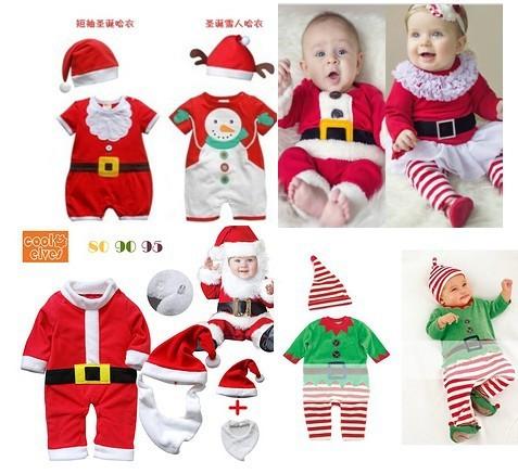 Chegam novas 2015 moda macacão 0-24 M roupas de manga longa vaca Dos Desenhos Animados do Natal do bebê infantil bebes vestido para recém-nascidos