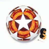 2018 2019 finals Soccer Ball Madrid 19 Final Balls Match football ball PU high grade seamless paste skin