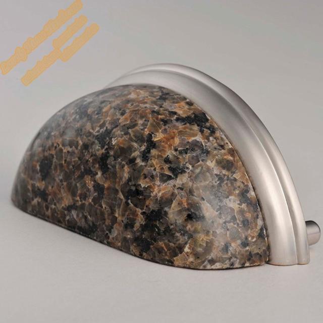 76mm Tropical Brown Granit Schublade Ziehen, Stein Küchenschrank ...