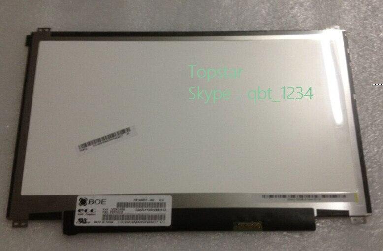 Nouveau panneau d'origine BOE 13.3 pouces haute résolution HB133WX1-402 U330 U330 lcd
