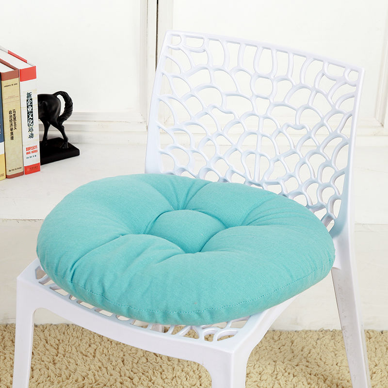 Round Tatami Seat Pad Pure Color Chair Cushion For Office Home Decor Modern Soft Chair Pillow Back Cushions Dining Stool Pad Mat