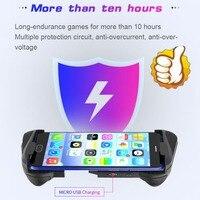 MOCUTE 057 Bluetooth 4 0 Gamepad PUBG Controller PUBG Mobile Löst Joystick Wireless Joypad Für iPhone XS Für Android Tablet