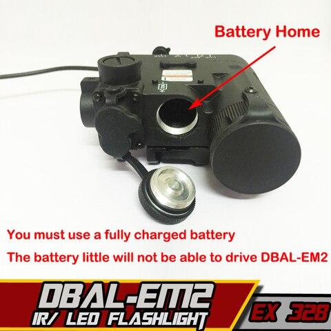 tocha dbal d2 ir laser interruptor de controle duplo tatico arma luzes