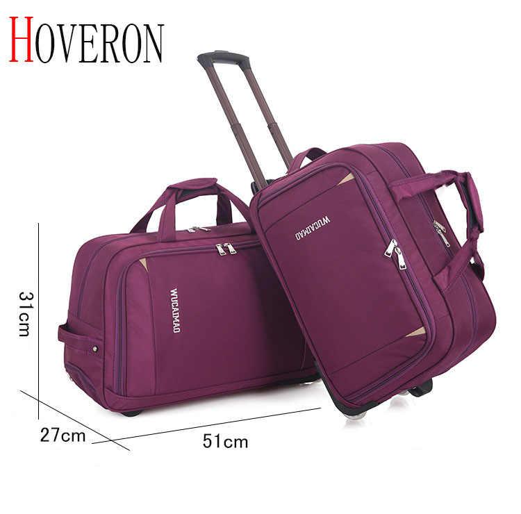 Moda damska bagaż na kółkach walizka na kółkach marka w stylu casual, gruba torba podróżna na kółkach walizka bagażowa