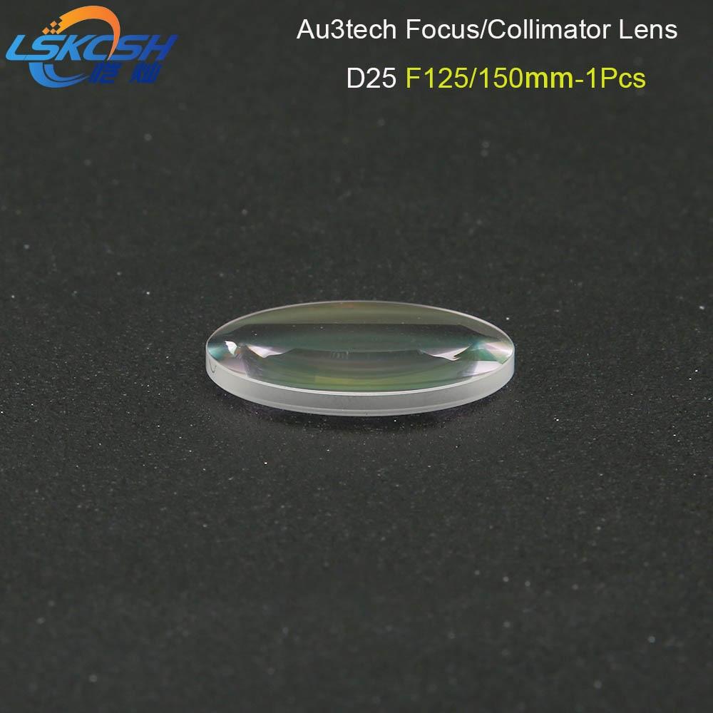 LSKCSH fibre Laser collimateur lentille/objectif de mise au point D25 F125/150mm 1 pièces pour Au3tech fibre Laser tête de coupe MC100-QCS professionnel