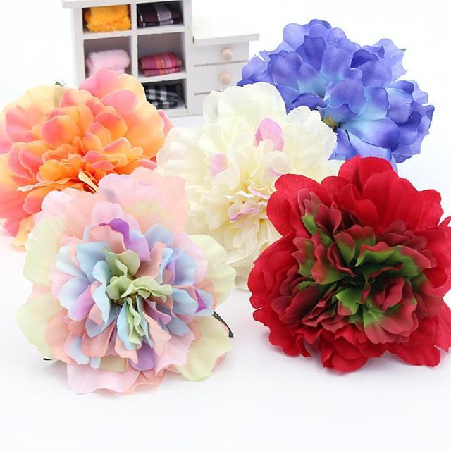 2pcs silk flower rose lily tulip ball flower wreath pectoral flower 2pcs silk flower rose lily tulip ball flower wreath pectoral flower clothing hat shoes christmas mightylinksfo