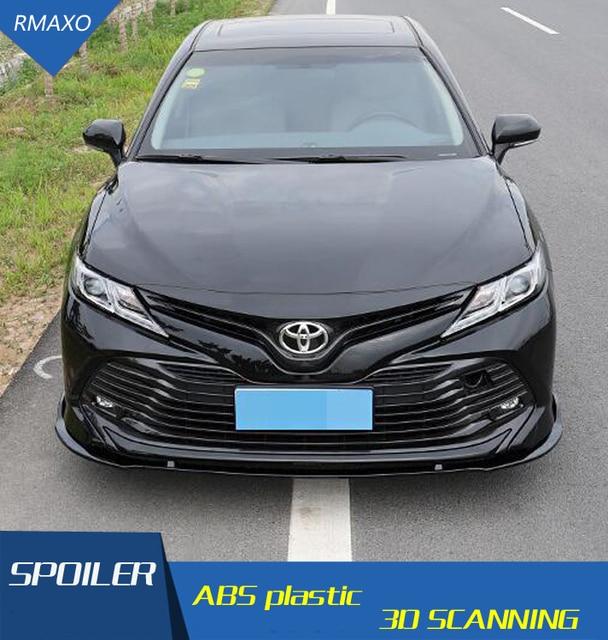 For Camry Body Kit Spoiler 2018 2019 For Toyota Camry Bk Abs Rear