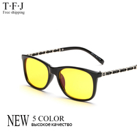 TFJ 2016 Novo Das Mulheres Do Vintage óculos de Sol Mulheres Homens Marca Designer Full Frame Óculos Anti Computador Fadiga Óculos Anti Azul