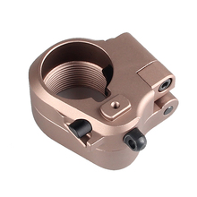 Tactical AR Folding Stock Adapter Tan Color for Airsoft Hunting Accessory For M16/M4 SR25 Series GBB(AEG) 2-0042