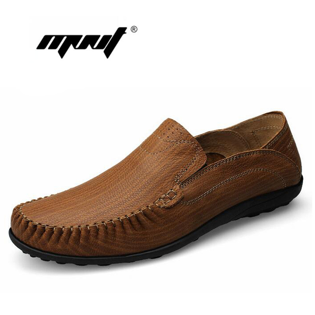 Genuine leather shoes men soft loafers Moccasins new design flats shoes comfortable plus size men shoes zapatillas hombre