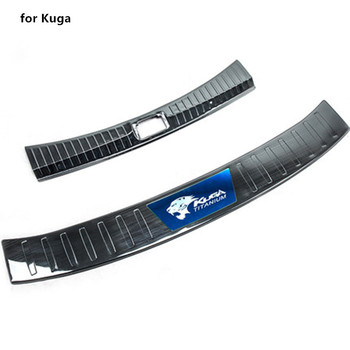 Auto styling rvs Achterbumper Protector Sill Trunk Tread Plate Trim voor Ford Kuga 2013 2014 2015 2016 2017 2018