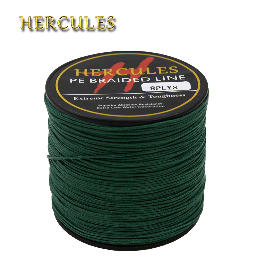 Hercules 250LB Green PE Braided <font><b>Fishing</b></font> <font><b>Line</b></font> Sea Saltwater Carp <font><b>Fishing</b></font> Super Strong <font><b>8</b></font> <font><b>Strands</b></font> 100M 300M 500M 1000M 1500M 2000M