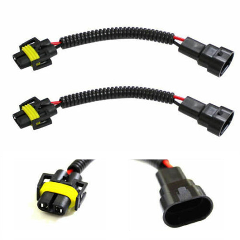 US $7.84 20% OFF|H11 H8 H9 Male To 9005 9006 HB4 Wiring Harness Ballast on
