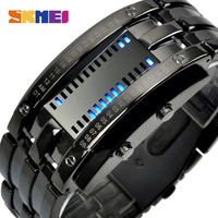 SKMEI Creative Fashion LED Smart Watches Men Sleep Tracker Pedometer 30M Waterproof Sport Watch Lovers Digital