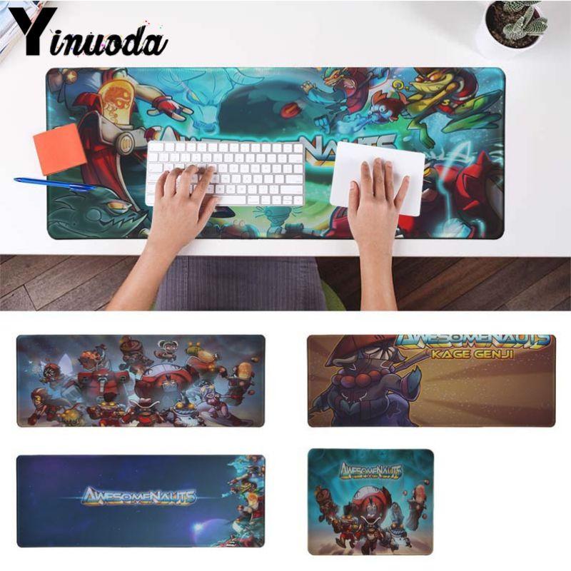 Yinuoda Нескользящие PC Awesomenauts офисных мышей геймер мягкие Мышь Pad Размеры для 18x22 см 20x25 см 25x29 см 30x90 см 40x90 см