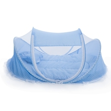 Get more info on the Portable Type Kids Comfortable Babies Travel Bed Sealed Mosquito Net Mattress Pillow Mesh Bag