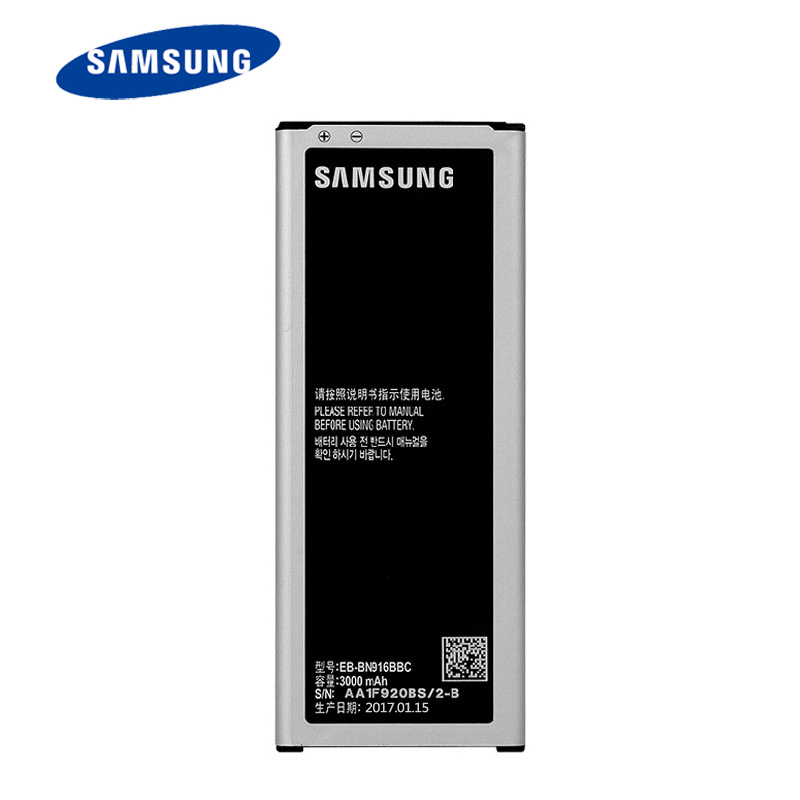 100% New Battery EB-BN910BBE For Samsung GALAXY NOTE4 NOTE 4 N910a N910u N910F 3220mAh support NFC+track number