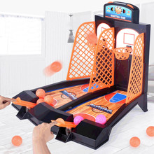 Toy Gadgets Game Desktop Children Educational for Adults Set Table-Stress Basketball-Shooting