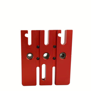 Image 4 - Woodworking Splicing board hole opener locator tenon hole Puncher with 6/8/10mm drill bushing woodworking tool