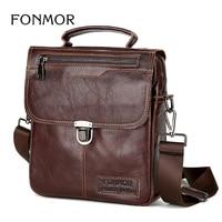 Brand Men S Handbags Vintage Genuine Leather Shoulder Bags High Quality Briefcase For Men Business Tote