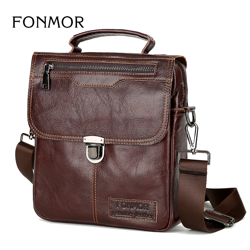 Brand Men's Handbags Vintage Genuine Leather Shoulder Bags High Quality Briefcase For Men Business Tote ipad New Crossbody Bags fashion men briefcase genuine leather business shoulder bags quality stylish brand handbags brand tote bag for ma 7100