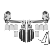 лучшая цена One Pair Adjustable Front Pegs FootPegs Footrest For Honda Goldwing GL1800 Motorcycle A