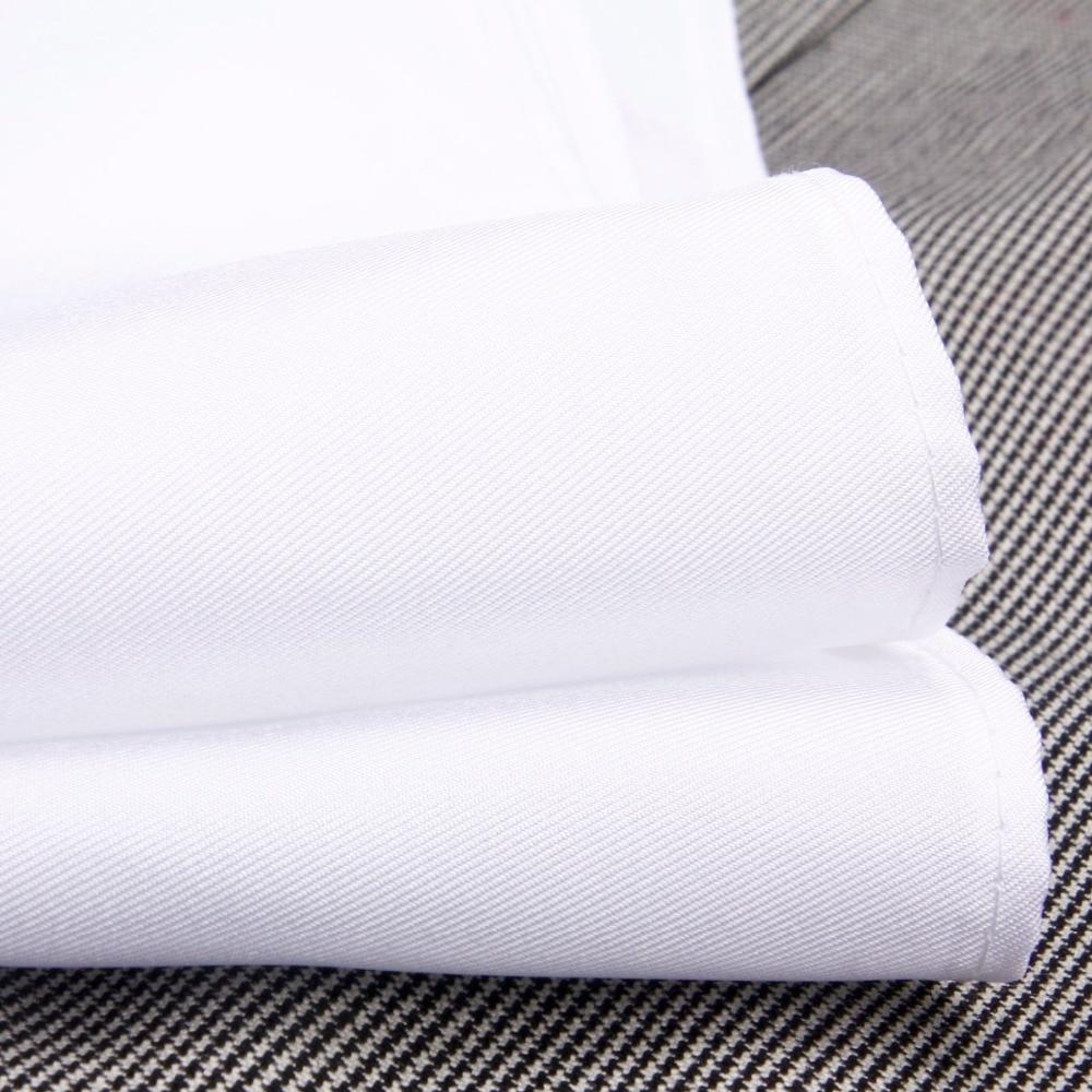 100% dabīgs zīda roku darbs, klasiskās baltas kabatas lakatiņš, - Apģērba piederumi - Foto 4